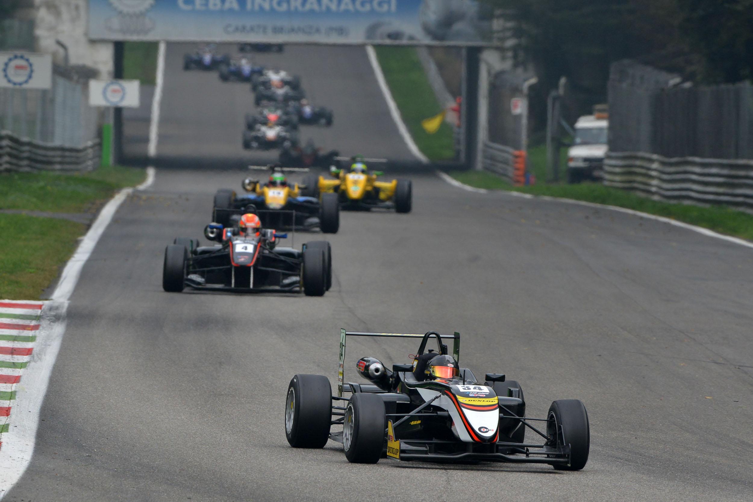 Richard Gonda Monza podium