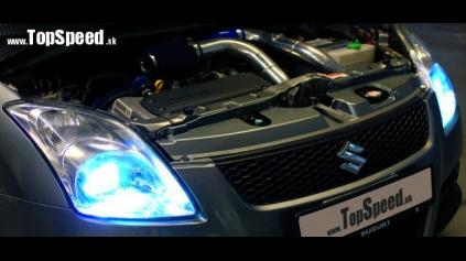 Test jazdenky Suzuki Swift Turbo