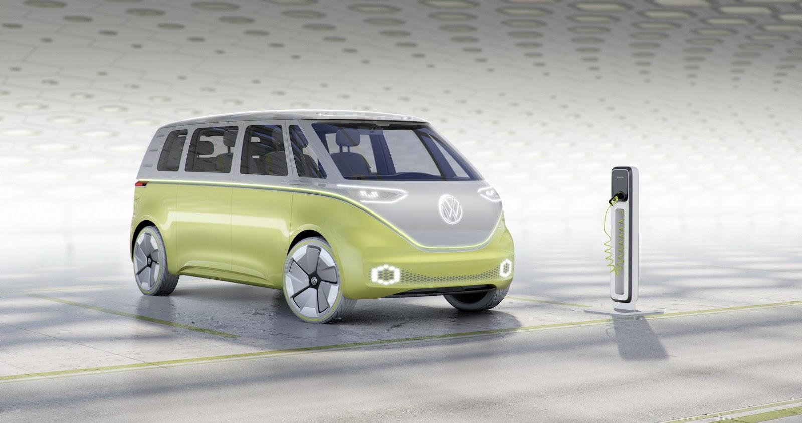 VW I.D. Buzz elektro mikrobus