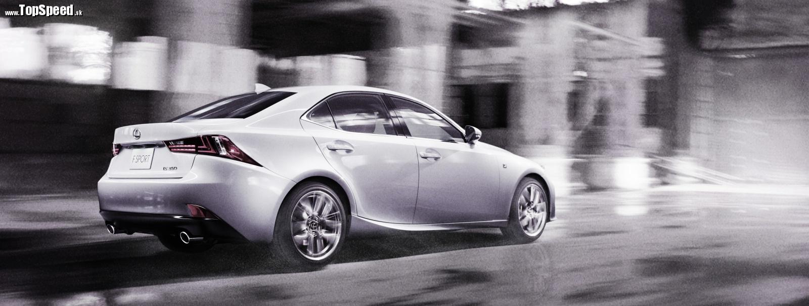 Lexus IS tretej generácie ide dizajnovým smerom aktuálneho radu GS