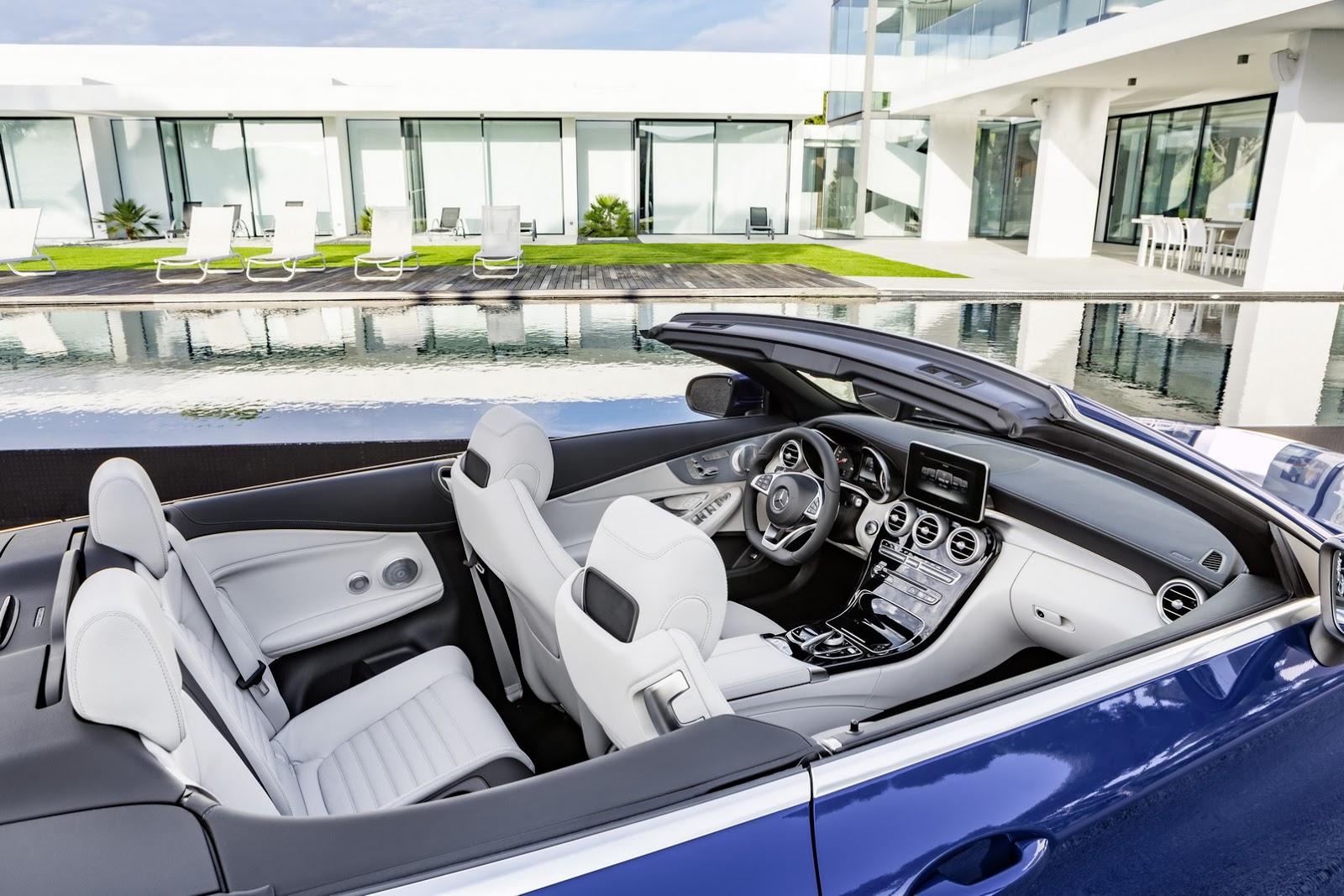 Mercedes triedy C Cabriolet