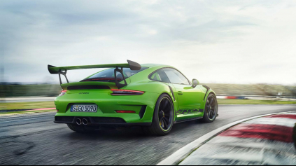 Nová 911 GT3 RS má mať ešte výkonnejší atmosférický motor