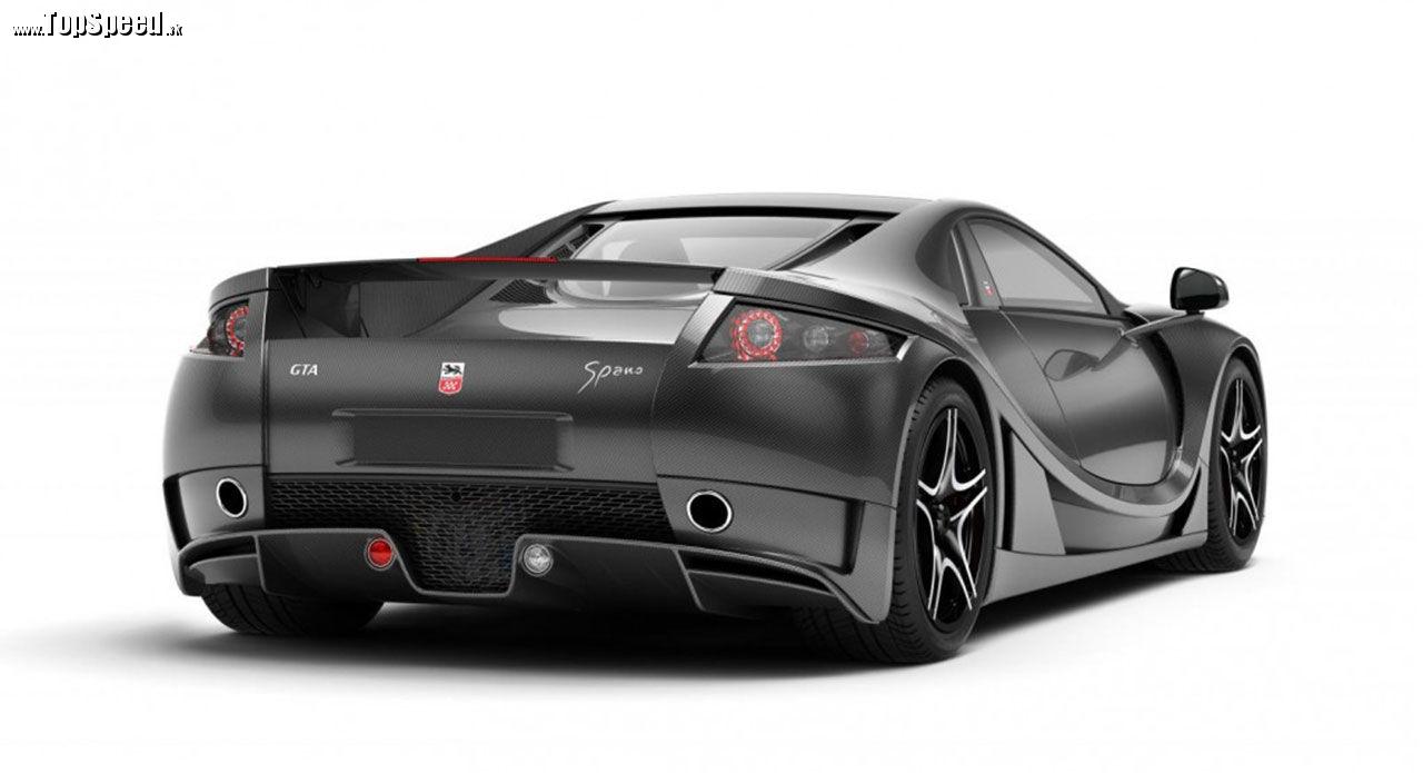 V názvoch začínam mať chaos. Správne by sa tento superšport mal plným menom volať Spania GTA GTA Spano.