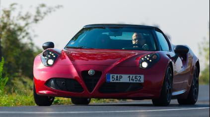 Test Alfa Romeo 4C Spider