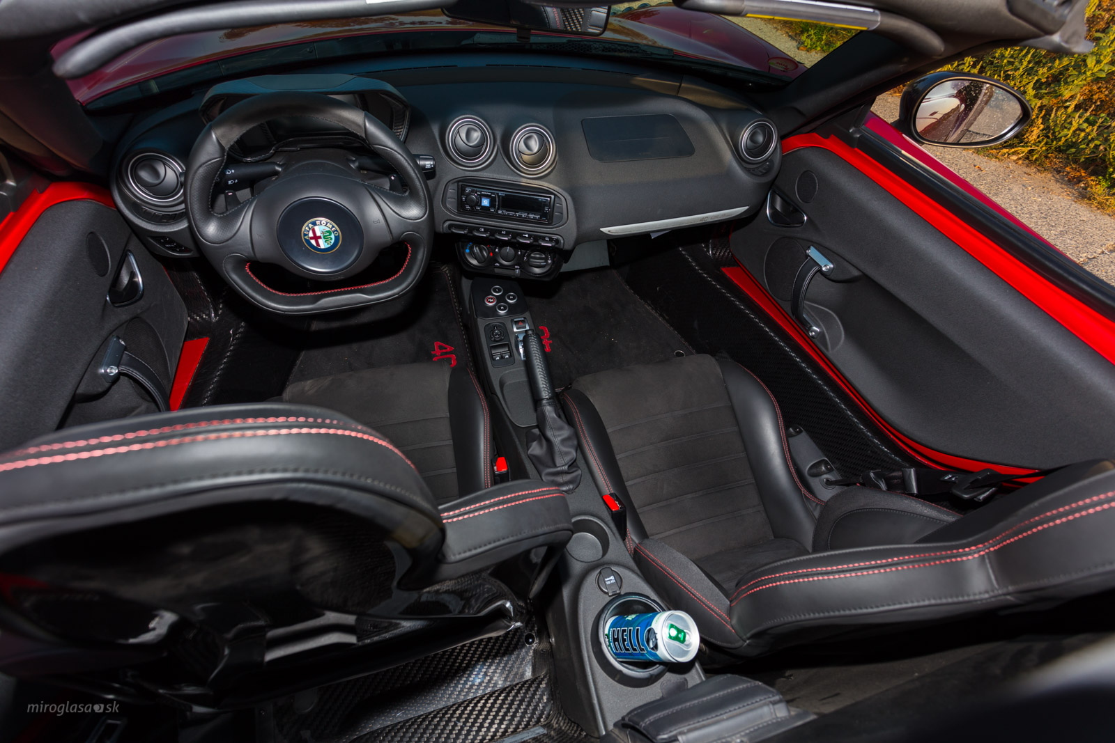 TopSpeed.sk test - Alfa Romeo 4C spider