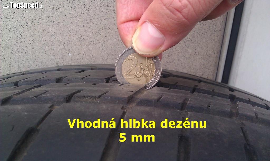 ako merat hlbku dezenu pneumatiky
