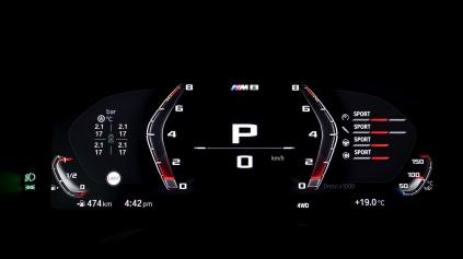 V modeli M8 predstavia nový športový displej BMW
