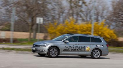 TEST VW PASSAT VARIANT B8 BITDI DSG 4MOTION