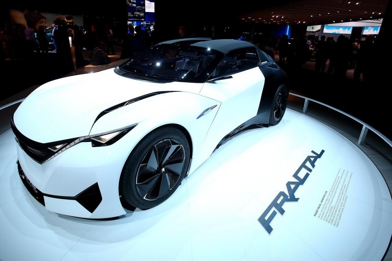Peugeot Fractal je príliš dobrý na to, aby chýbal v Paríži
