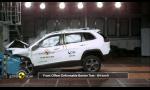 Jeep Cherokee Euro NCAP test nedotlačil na plný počet hviezd