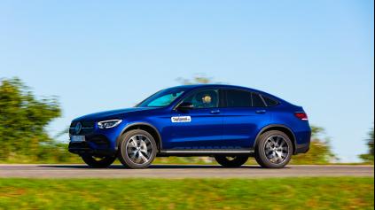 Test: Mercedes-Benz GLC 300 4Matic Coupe - pretláčanie s fyzikou