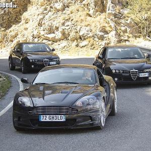 <p>Quantum Of Solace - Aston Martin vs Alfa Romeo</p>