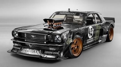 BLOCKOV MUSTANG HOONICORN RTR MÁ MOTOR Z NASCAR