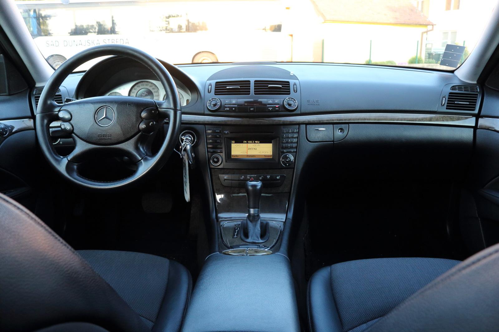 TopSpeed.sk test jazdenky Mercedes E W211