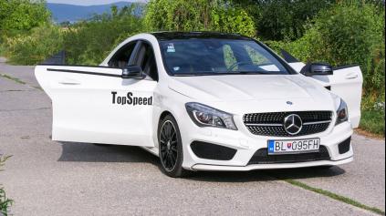 TEST Mercedes-Benz CLA 220CDI Edition1 (typ C117)