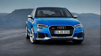 Modernizované Audi RS3 Sportback má 400 koní a 480 Nm