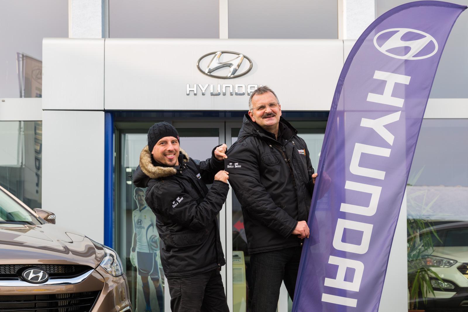 SuperDRIVE partnerstvo Hyundai