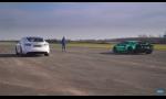 Šprint Aventador S a Tesla Model S: To naj z oboch svetov?
