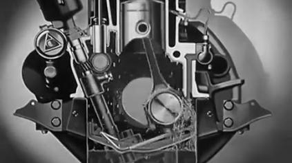 VIDEO Z ROKU 1937 VYSVETĽUJE AKO FUNGUJE MAZANIE MOTORA