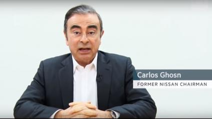 Má C. Ghosn v ruke tromf? Natočil video, v ktorom vysvetľuje situáciu