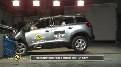 Citroen C5 Aircross Euro NCAP zvládol na 4 aj 5 hviezdičiek