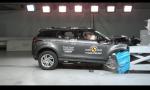 Nový Range Rover Evoque Euro NCAP testy zvládol na 5