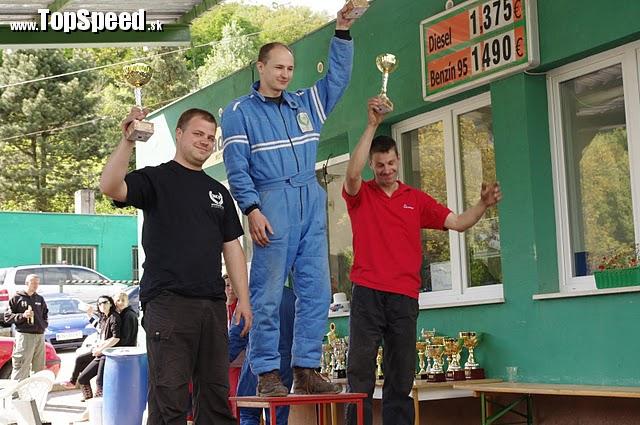 I. miesto, slalomár Martin Pikus, T-1600 ccm