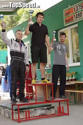 II. miesto, slalomár Vlado Okáli, T - 2000 ccm