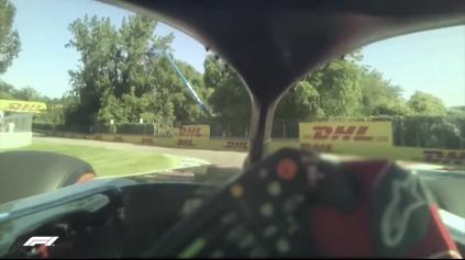 Jedno kolo z pohľadu pilota Formuly 1