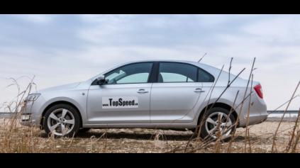 Test Škoda Rapid 1,6 TDI
