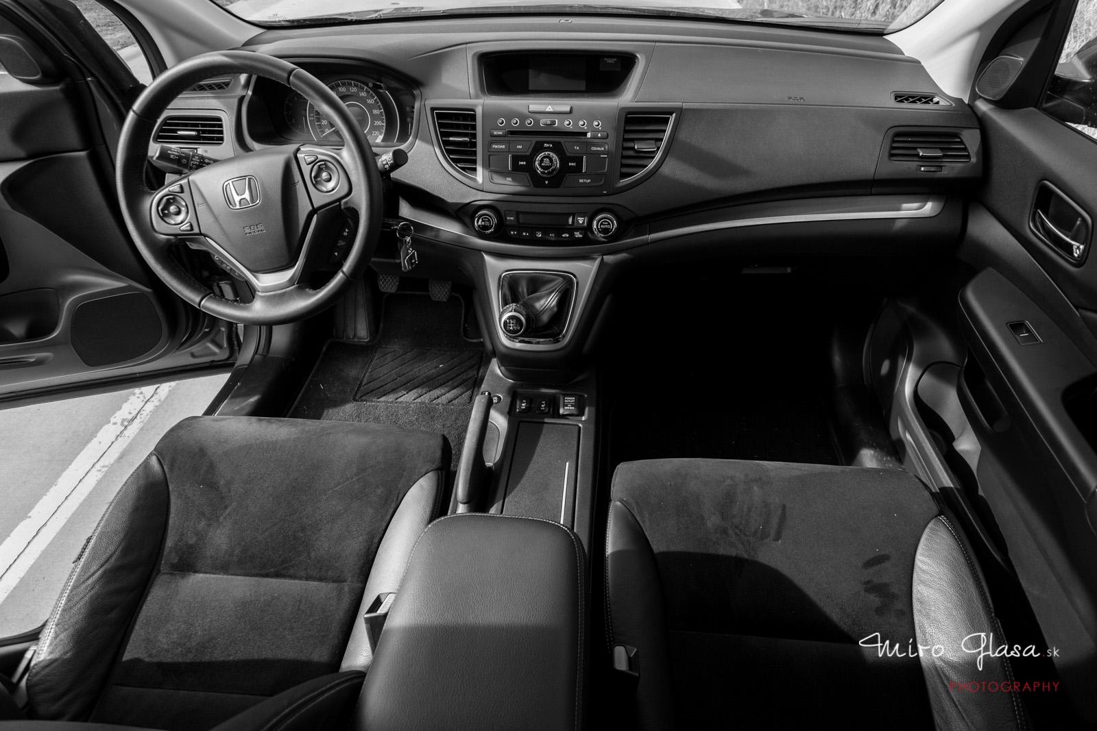 Interiér novej CR-V môžem!
