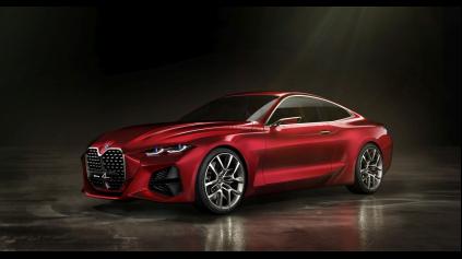 Poodhalí budúce BMW radu 4 BMW Concept 4?