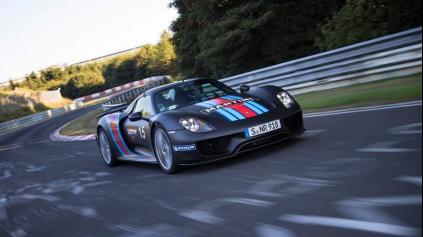 Porsche 918 prepisuje históriu Nürburgringu. Ako prvé sa dostalo sa pod 7 minút!