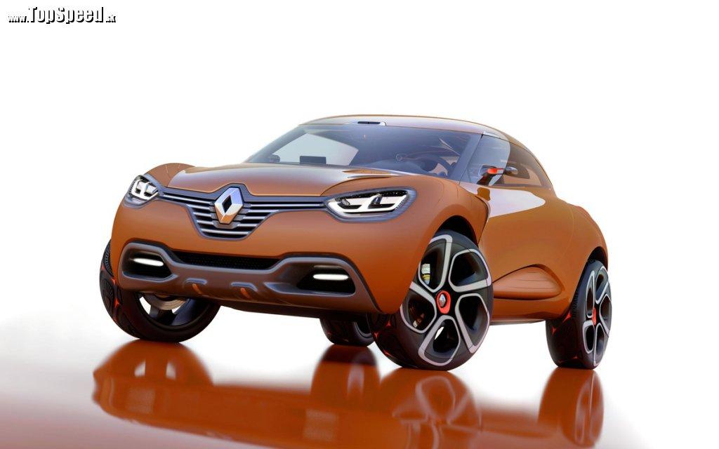 Captur ukazuje nový dizajnersky trend Renaultu