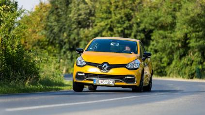 Test Renault Clio IV R.S. 200 EDC