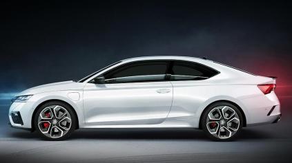 Škoda Octavia RS Coupé je virtuálne zas na scéne. Provokuje aj fabrika
