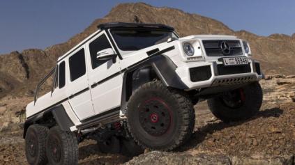 Luxusný tank do terénu - Mercedes G63 AMG 6x6