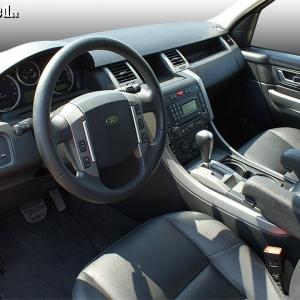 <p>Interiér Range Rover Sport</p>