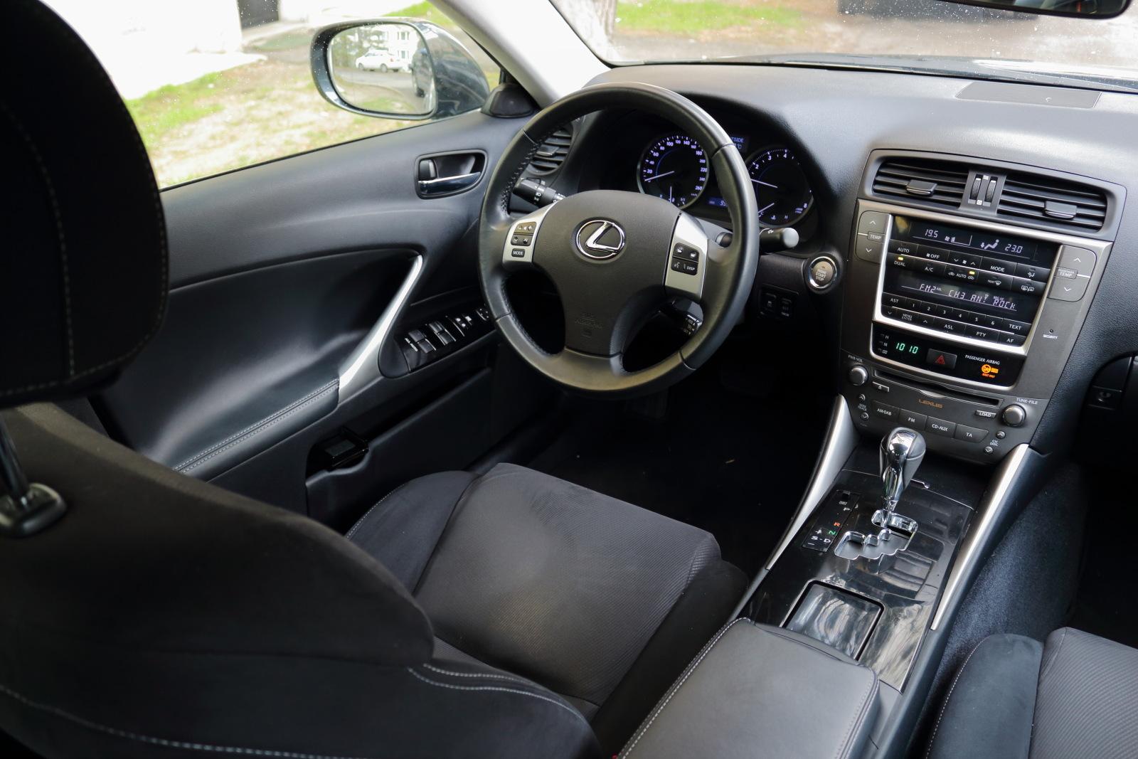Test jazdenky Lexus IS (2005 - 2013)