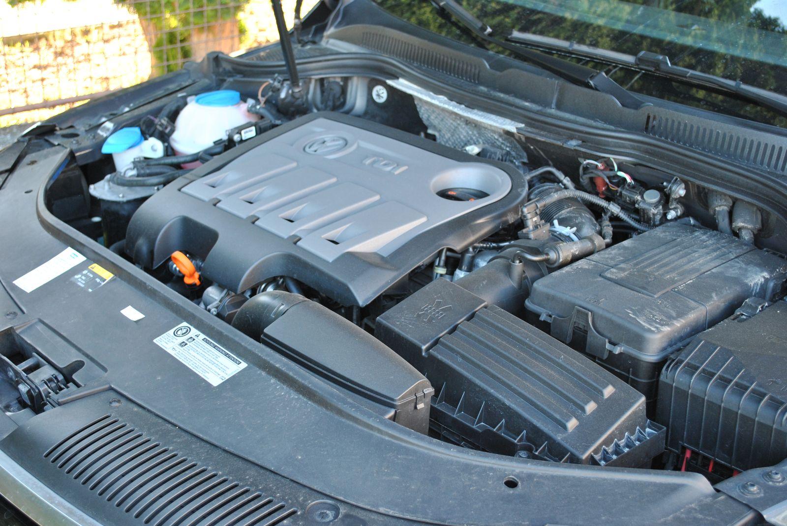 Test jazdenky Volkswagen Passat CC