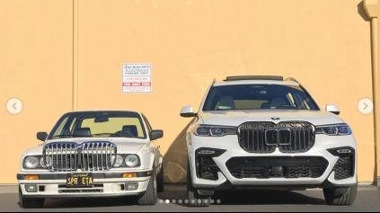 Zamenil obličky BMW X7 s BMW E30. Rozdiel je šokantný