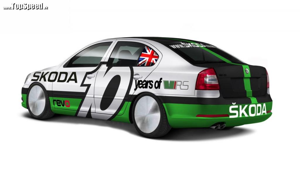 Škoda Octavia RS Bonneville special