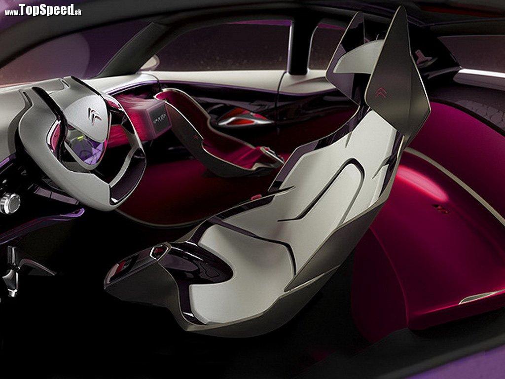 Interiér Citroën REVOLTe