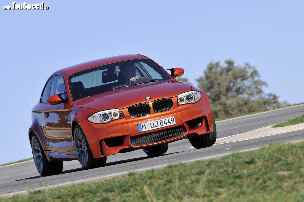 Toto je ihrisko nového BMW 1 Series M Coupe - pretekársky okruh
