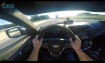 Cadillac CTS-V na diaľnici prekonal 300 km/h