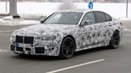 Zamaskované BMW M3 na fotkách, vieme niečo nové?