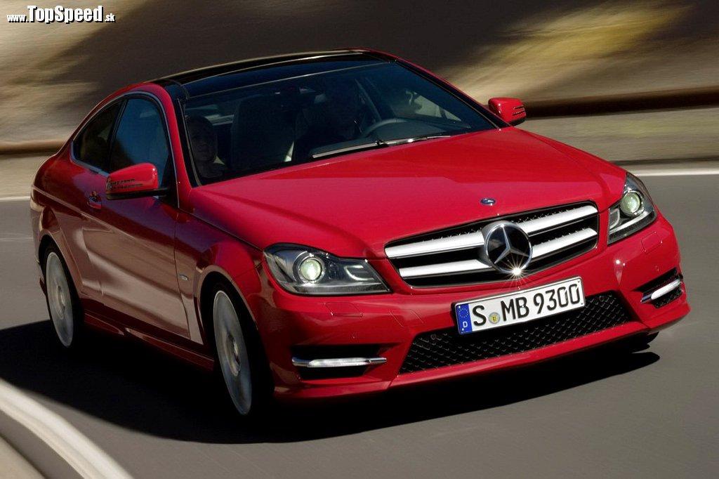 Nový Mercedes C kupé