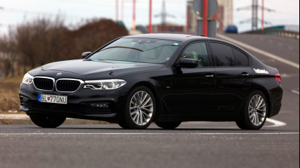 TEST BMW 540I SPORT XDRIVE G30