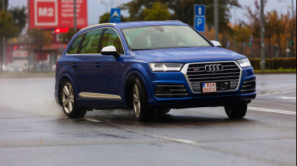 TEST AUDI SQ7 TDI 4.0 V8 BITURBO