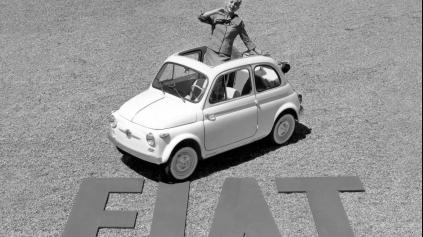 MALIČKÝ FIAT 500 OSLÁVI TENTO ROK ÚCTYHODNÝCH 60 ROKOV